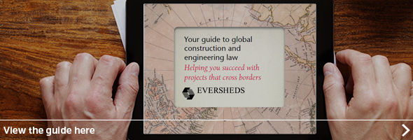 Eversheds guide to international construction