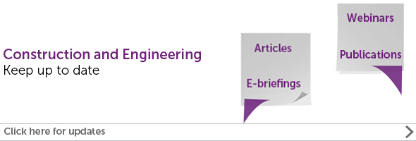 Construction and Engineering law news and articles