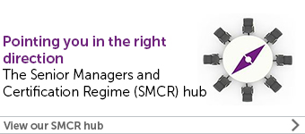 The Senior Managers and Certification Regime hub