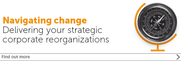 Corporate Reorganizations banner