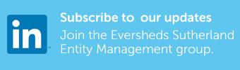 Join the Eversheds Sutherland entity management LinkedIn group