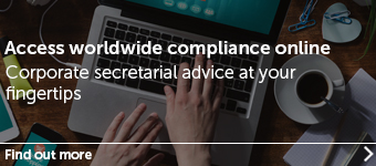 Focus on online worldwide compliance