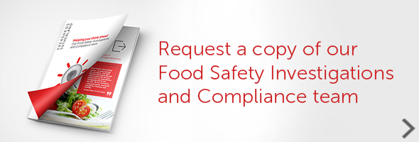 Food Safety and Investigations team Capability Statement