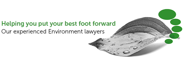 Environment lawyers