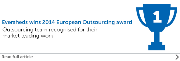 European outsourcing awards 2014
