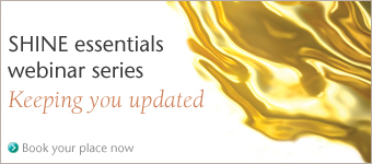 SHINE essentials webinar series - Book your place now!