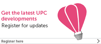 UPC register for updates