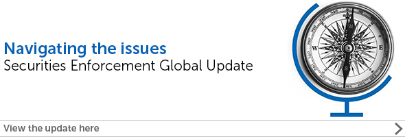 Securities Enforcement Global Update