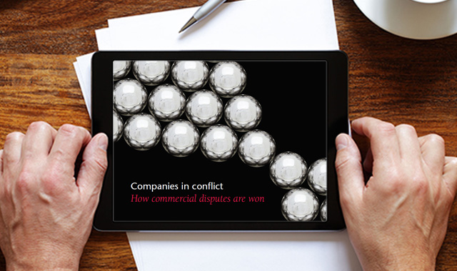 Companies in conflict report. How commercial disputes are won. View the full report