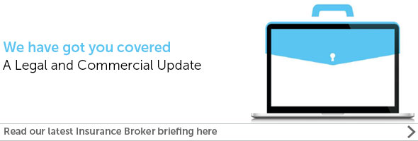 Insurance broker briefing