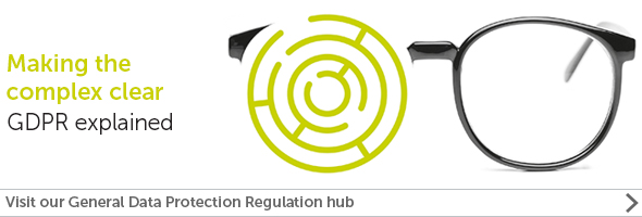 View our General Data Protection Regulation hub
