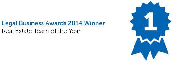 Legal Business Awards - Real estate team of the year 2014