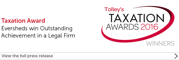 Tax Law firm of the year 2016